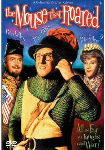 The Mouse That Roared DVD with Peter Sellers and Peter sellers The Mouse That roared is a Family classic suitable for collectors