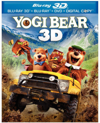 Yogi Bear 3D Blu-Ray Field sequential Stereoscopic 3D Fun